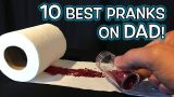10 TOP Fathers Day PRANKS & GAG GIFT Ideas!