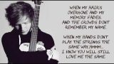 Ed Sheeran – Thinking Out Loud Lyrics With Music