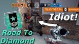 Idiot Maverick! Road To Diamond – Rainbow Six Siege Funny Moments