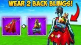 WEAR 2 BACK BLINGS AT ONCE?! – Fortnite Funny Fails and WTF Moments! #358