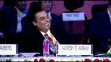 What made Mukesh Ambani laugh out loudly during Hutnsman's speech