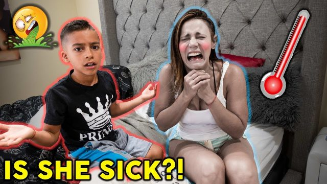 Faking Sick Prank **SHE TRICKED US** | The Royalty Family