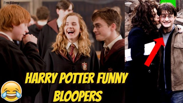 Harry Potter Funny Bloopers and Gag Reel – Try Not to Laugh with Emma Watson