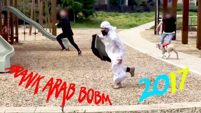 PRANK ARAB  BOMB 2016