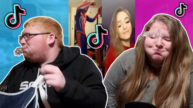 TIK TOK TRY NOT TO LAUGH CHALLENGE vs MY SISTER *funny tik tok challenge*