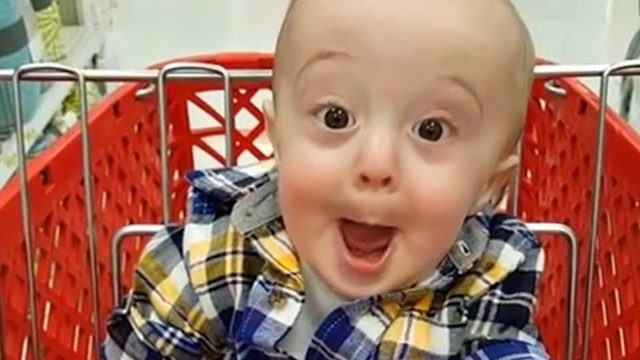 Funny Baby First Time Shopping 🛒🛒🛒 Funny Fails Baby Video