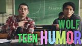 i fell in a hole   teen wolf (humor)