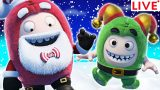 ODDBODS: CHRISTMAS SPECIAL 🎄 'Tis the Season to be Jolly | Funny Cartoons for Children | LIVE🔴