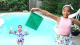 SCHOOL HOMEWORK IN THE SWIMMING POOL PRANK!