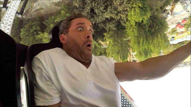 Terrifying Roller Coaster Prank!