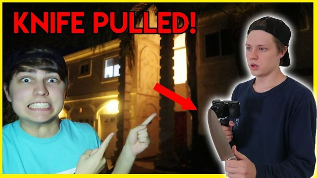 OUR HOUSE IS HAUNTED PRANK ON ROOMMATE!!