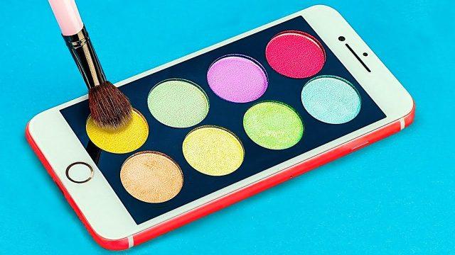 10 DIY Weird Makeup Ideas / Funny Pranks!