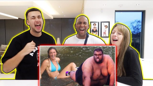 REACTING TO MORE FUNNY FAILS WITH FAMILY!