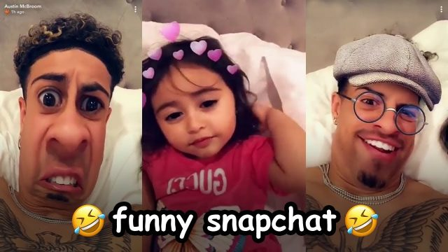 Austin and Elle Funny Snapchat Compilation (HILARIOUS)   The Ace Family