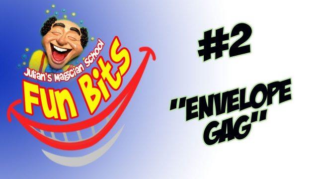 Magic Envelope Gag – New Fun With An Old Joke – Free Download – Comedy Magic