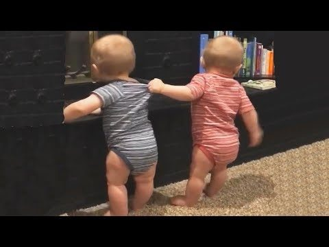 The FUNNIEST and CUTEST video you'll see today! – TWIN BABIES Adorable Moments
