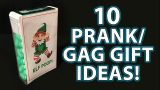 10 TOP LAST MINUTE Holiday Gag Gifts! (DIY Stocking Stuffers!)