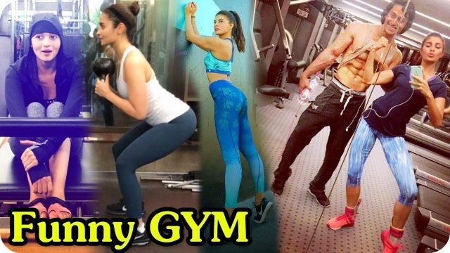 Funny Bollywood Actress Gym Workout || Actress Funny Moment || Prank Video || Comedy Scene