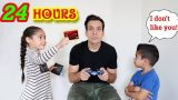 IGNORING Our KIDS For 24 HOURS! **PRANK**| Jancy Family