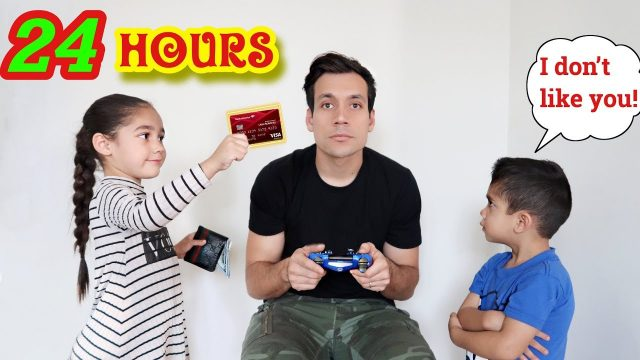IGNORING Our KIDS For 24 HOURS! **PRANK**  Jancy Family