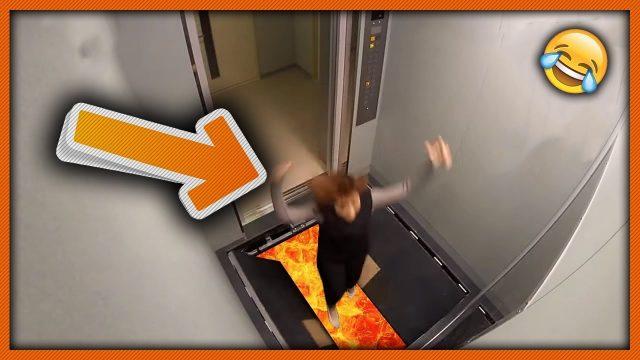 Funniest Elevator Pranks Compilation 😂 2018 Insane Funny Pranks 2018
