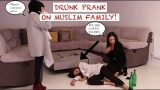 MUSLIM GIRL COMES HOME DRUNK PRANK ON MUSLIM FAMILY! | prank wars