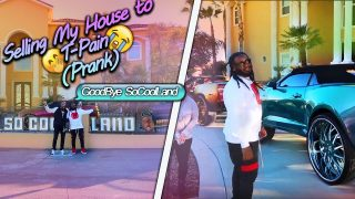 Selling My House to T-Pain PRANK